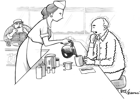A Caption You Will Not See in The New Yorker