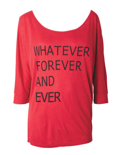 Fashion Friday: Whatever for Ever Tee