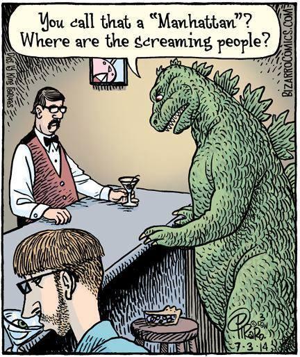 Godzilla Quotes: Godzilla Walks Into A Bar